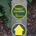 Public Footpath in Leek Wootton