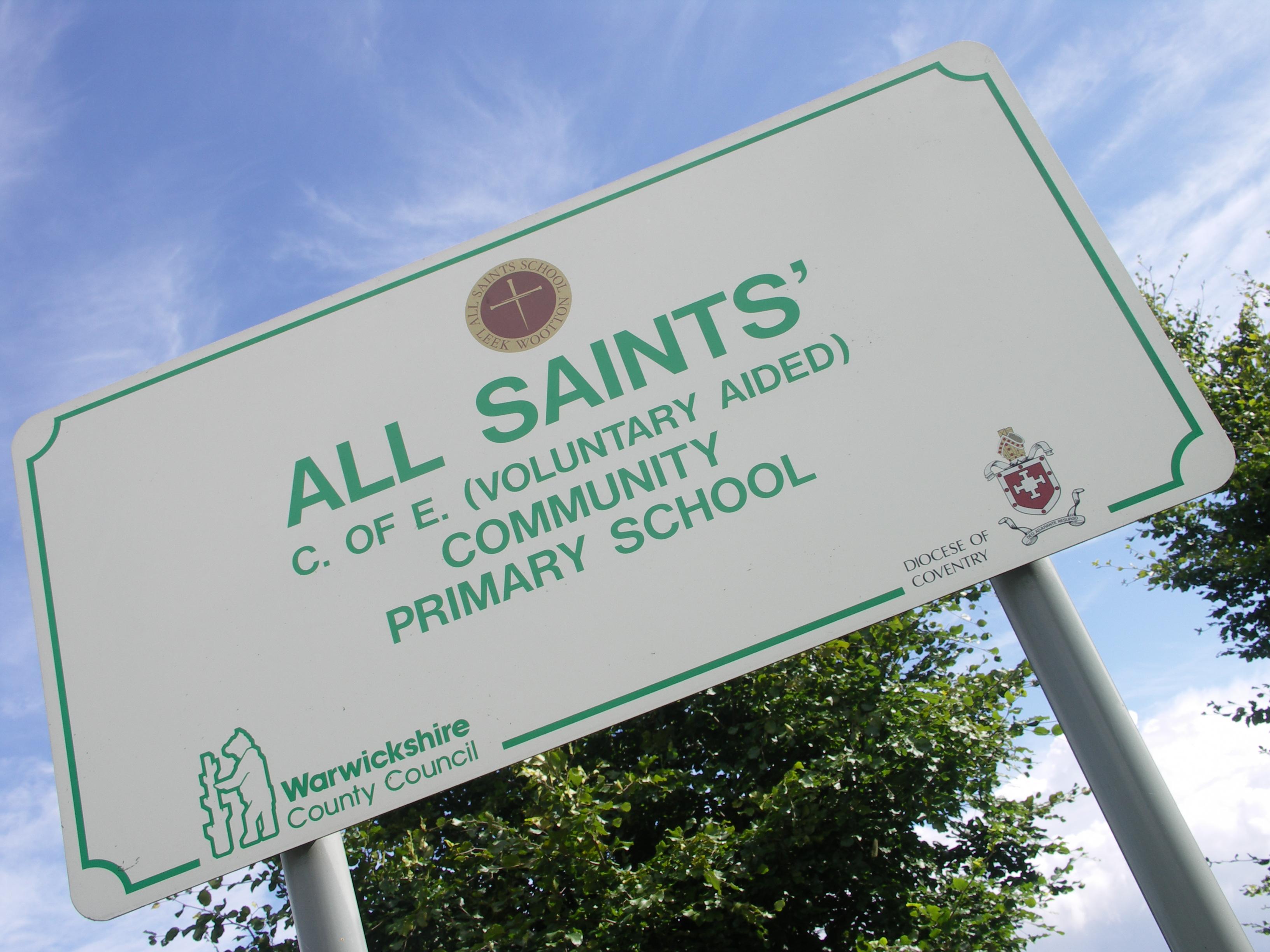 All Saints' C of E (VA) Primary School, Leek Wootton