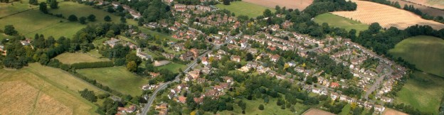 Aerial View of Leek Wootton