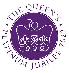 The Queen's Platinum Jubilee 2022 logo
